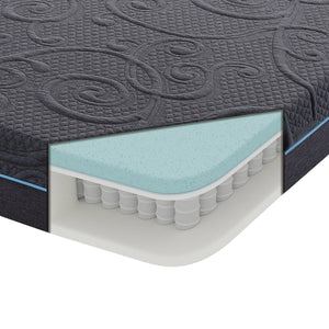 Gel Hybrid Mattress, 8-inch, Full Size