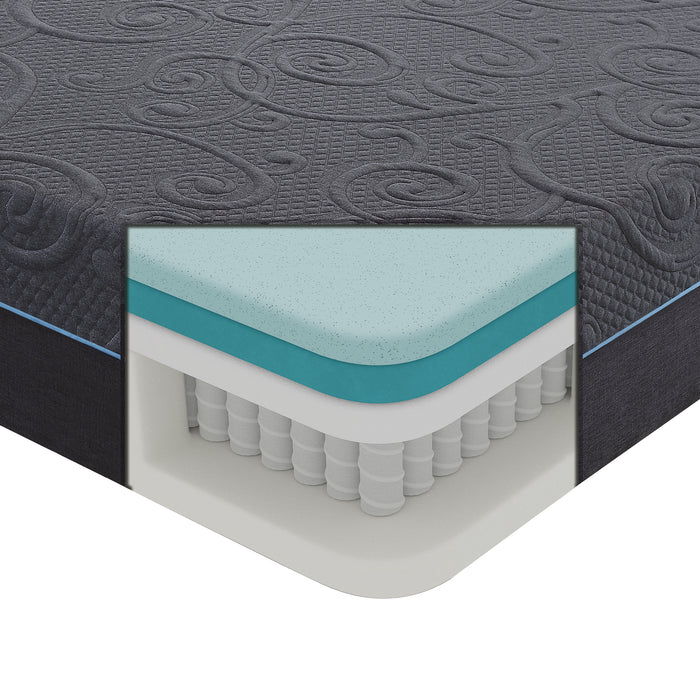 "14"" Eastern King Gel Hybrid Mattress"