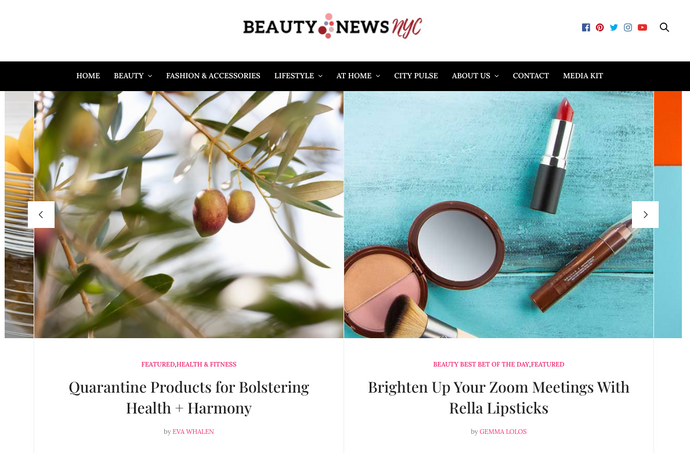 Rella in the News: Brighten Up Your Zoom Meetings With Rella Lipsticks