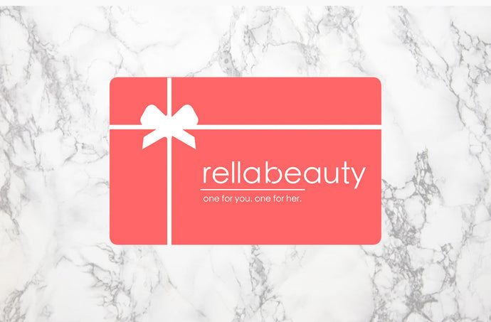 Introducing Rella Beauty Gift Cards!