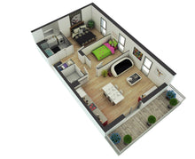 2 bed modular home