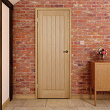 oak interior door