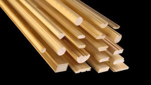 Wood mouldings
