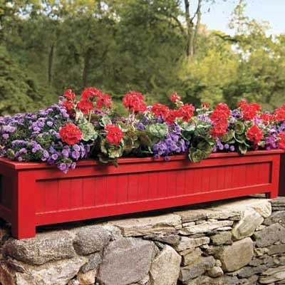 Red Planter