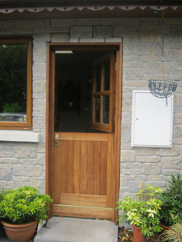 Outdoor Half Door