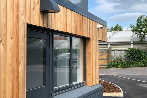 Larch Vertical Cladding