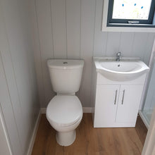toilet shepherds hut