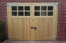 garage doors with glass
