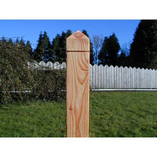 Larch Fencing Post