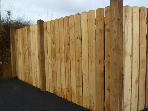 Round Top Fencing - 1.5m