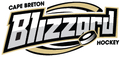 Cape Breton Blizzard Hockey Logo