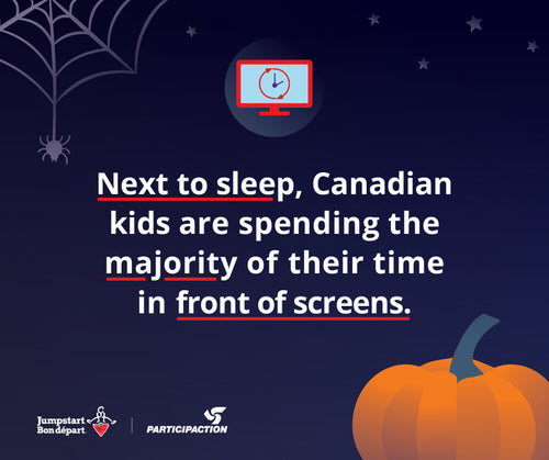 Next to sleep, Canadian kids are spending the majority of their time in front of screens.