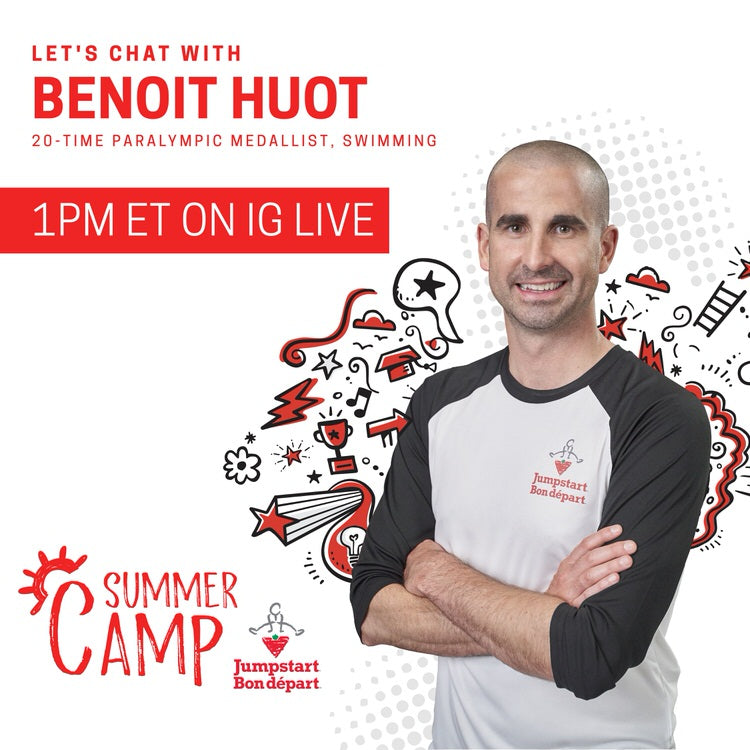 Let's chat with Benoit Huot at 1pm ET on Instagram Live.