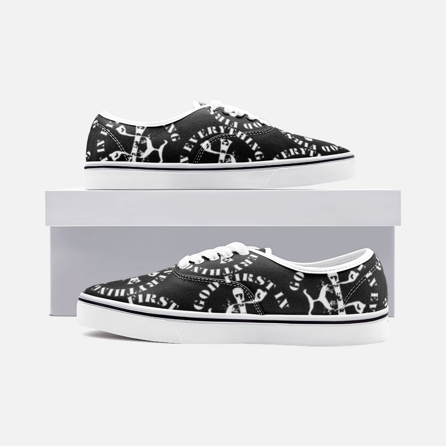 GFIE Canvas Low Cut Sneakers
