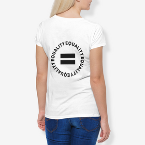 Support Black Business N Equality Women T-shirt Campaign 2020