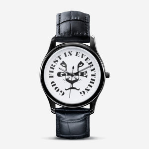 GFIE Classic Fashion Unisex Black Quartz Watch
