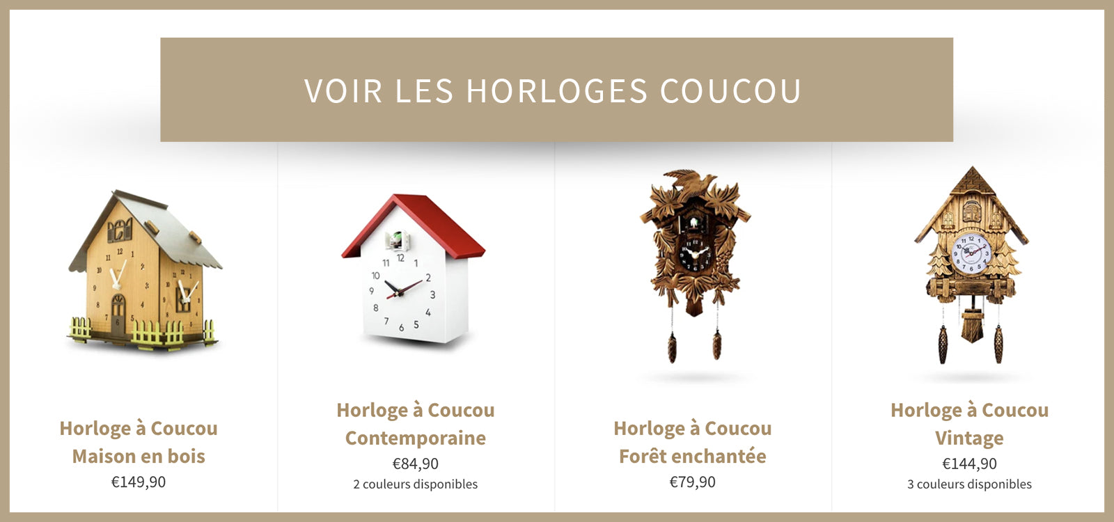 Collection Horloge Coucou