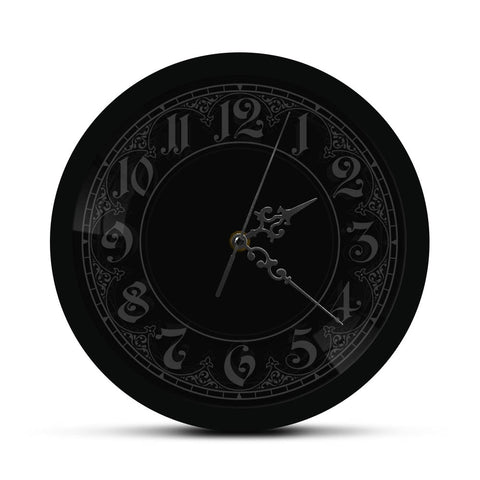 horloge murale led baroque