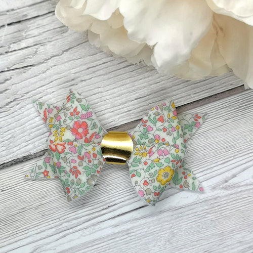 Liberty Of London 'Katie & Millie' Floral Butterfly Bow