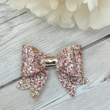 Load image into Gallery viewer, Pink 'Dolly Mix' Franchi Mini Bow