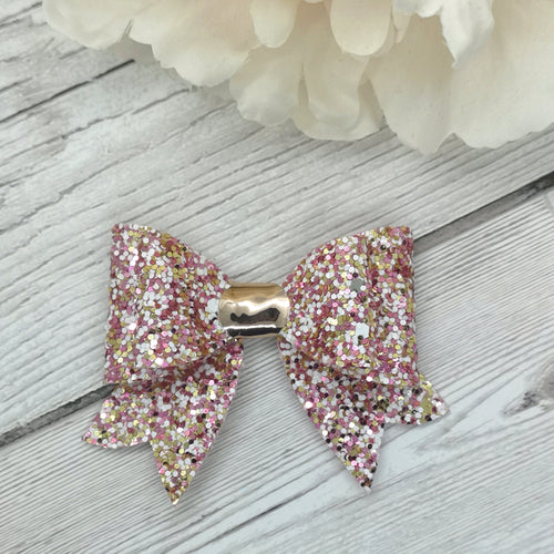 Pink 'Dolly Mix' Franchi Mini Bow