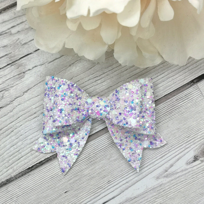 Purple Cupcake Franchi Mini Bow