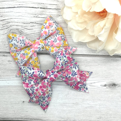 Liberty of London Whiltshire Berry Cutie Pie Bow, 2 colours