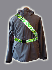 RR006CAM Retro Reflective Camouflage Green  Belt