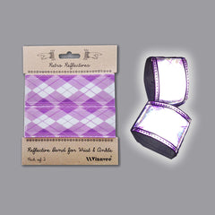 RR035ARG Retro Reflective Argyle Band