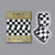 RR037CHE Retro Reflective Checkered B&W Band