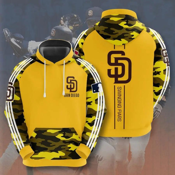 Baseball MLB Camouflage Fashion Hoodies
