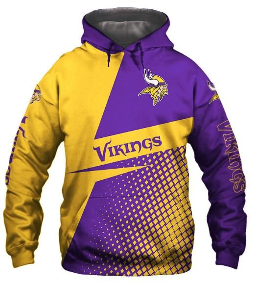NFL Unisex 3d Football Hoodies