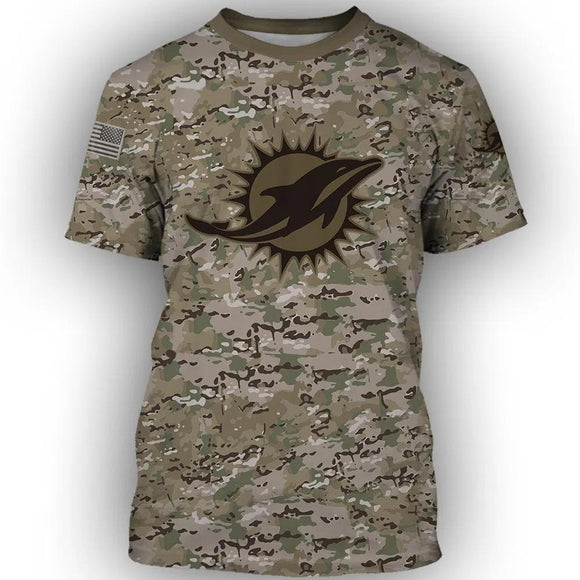 Camouflage Football Team NFL T-Shirt