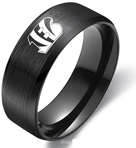 NFL Cincinnati Bengals Ring Football Men Sport Band - Snag Your Treasure