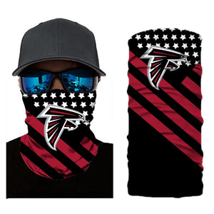 Football Atlanta Falcons 3d Breathable Face Scarf Neck Gaiter Masks - Snag Your Treasure