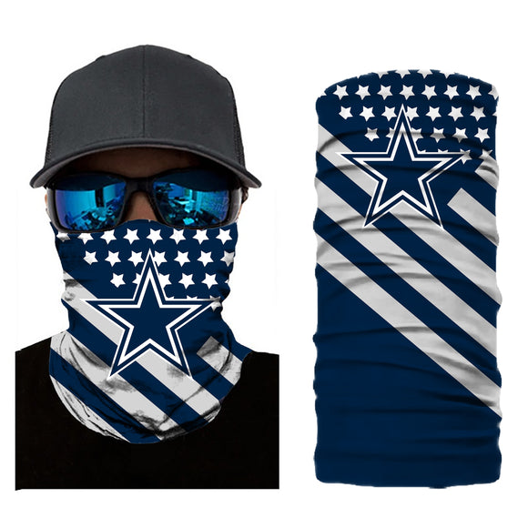 Football Dallas Cowboys 3d Breathable Face Scarf Neck Gaiter Masks - Snag Your Treasure