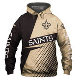 Casual Hoodies New Orlean Saints 3d Print Football Loose Sweatshirt Hoodie - Snag Your Treasure