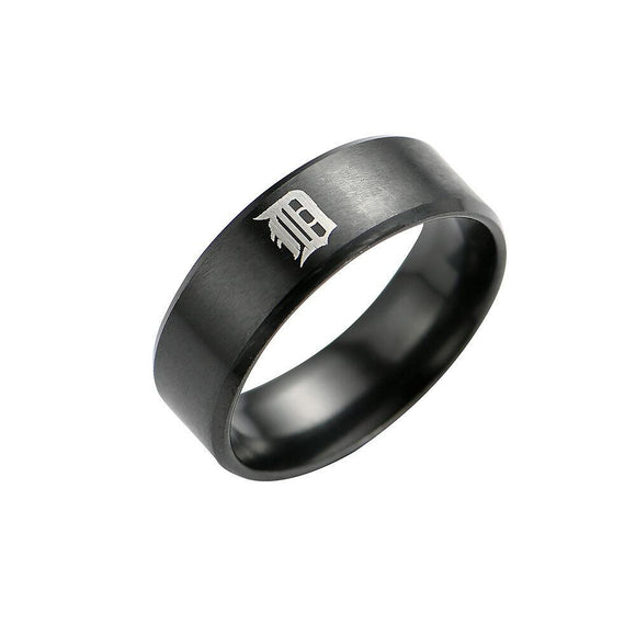 MLB DETROIT TIGERS TEAM TITANIUM STEEL Ring - Snag Your Treasure