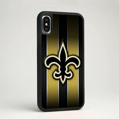 New Orleans Saints Football Soft Silicone Phone Cover Case for iPhone & Samsung - Snag Your Treasure