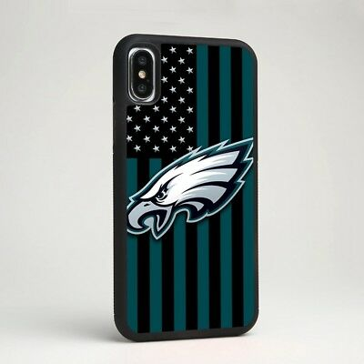 Philadelphia Eagles NFL Football Silicone Phone Cover Case for iPhone & Samsung - Snag Your Treasure
