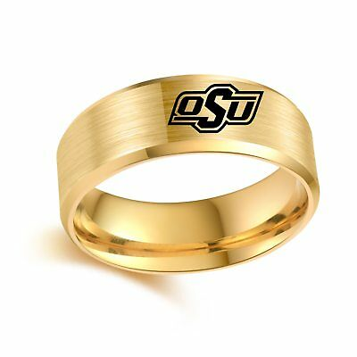 NCAA Oklahoma State University Stainless Steel Ring - Snag Your Treasure