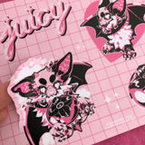 juicy ✧ sticker sheet
