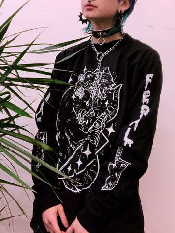 MONSTER OPOSSUM ✧ longsleeve *LAST CHANCE*
