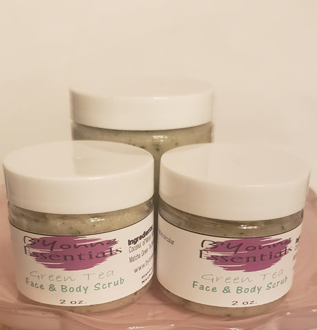 Lemon & Green Tea Face Body Scrub