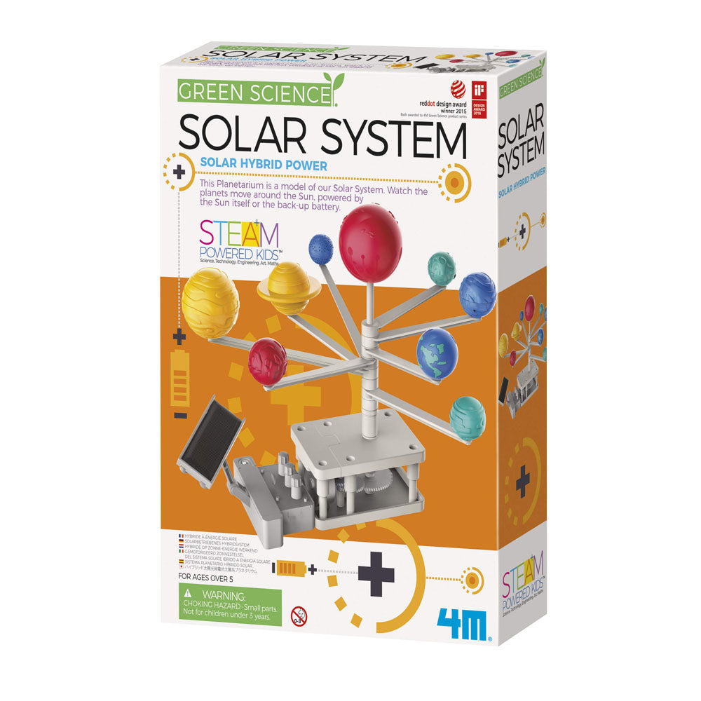 4M Green Science Rotating Solar System