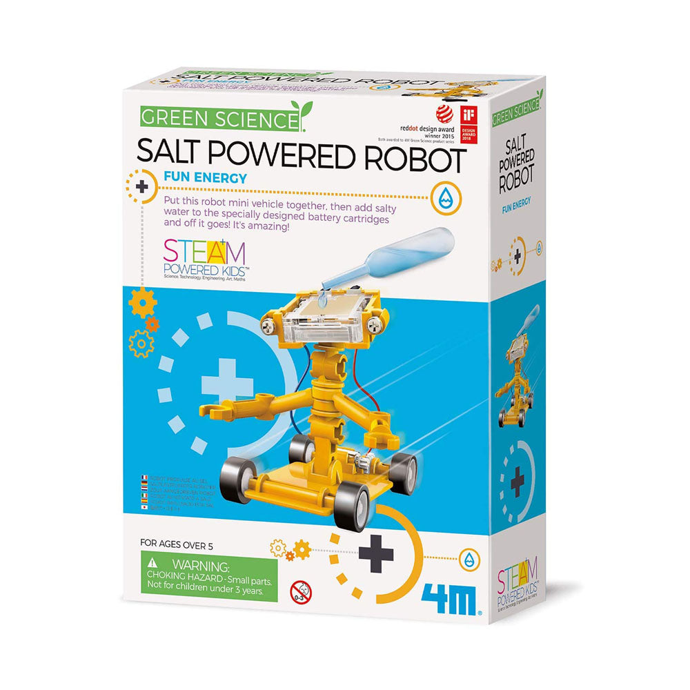 4M Green Science Powered Robot Kit
