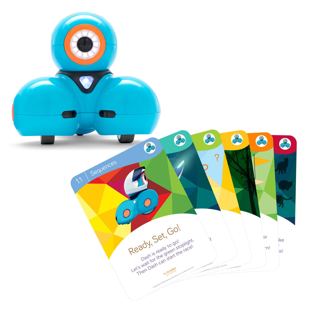 Dash Robot With Challenge Cards