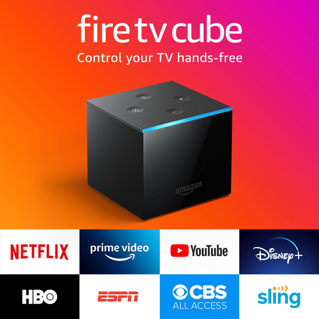 Fire TV Cube With Alexa Built In