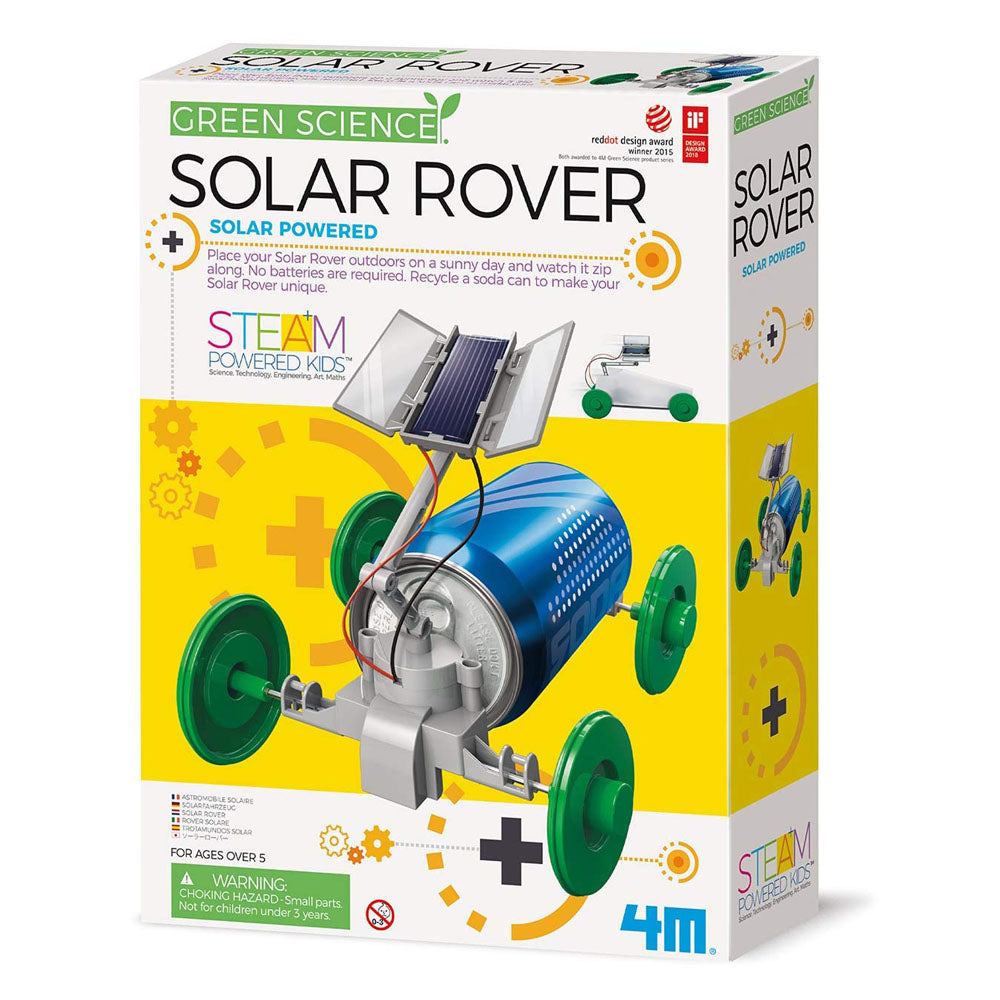 4M Green Science 3782 Solar Rover Kit