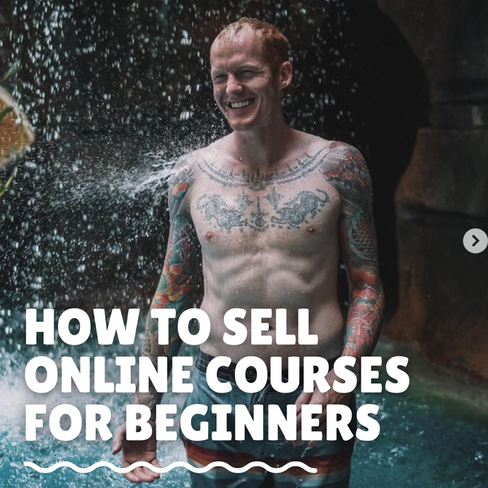 How to Sell Online Courses for Beginners